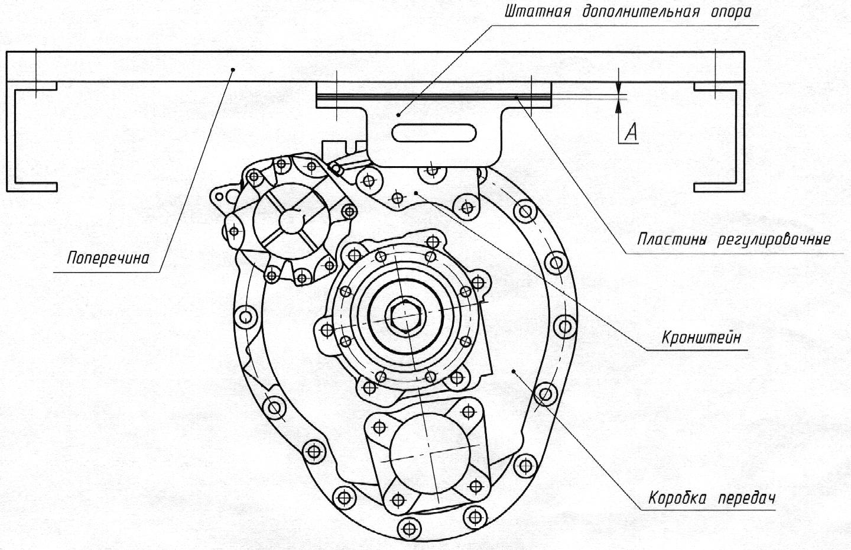 КПП ЯМЗ 238 с демультипликатором, схема, устройство ТД Спецмаш 7