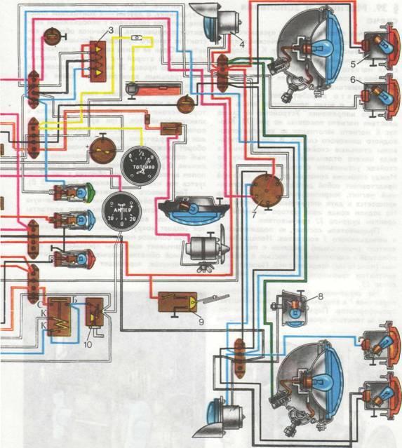 Электропроводка для трактора мтз