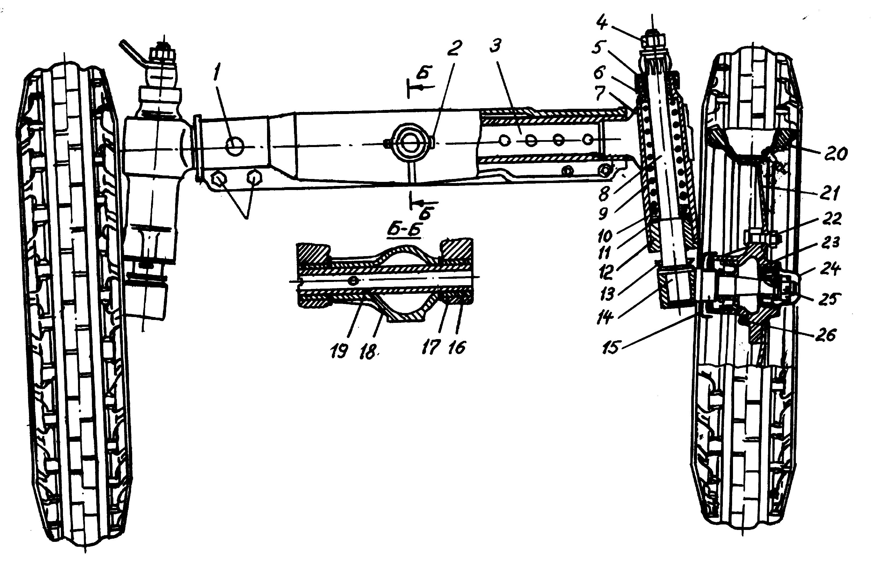 Планетарный механизм поворота трактора ДТ-75М