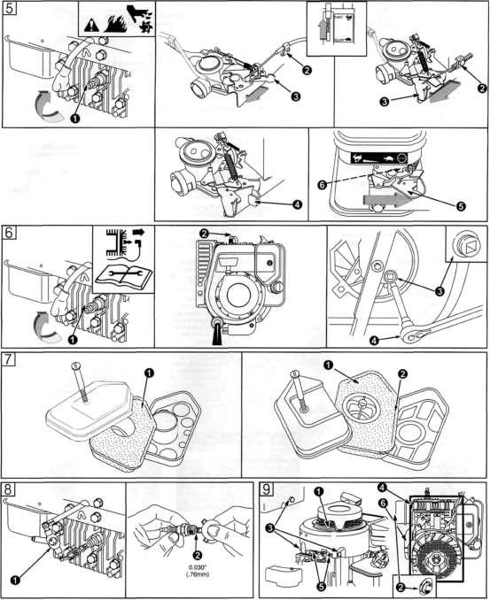 Ремонт двигателя бриггс на газонокосилке своими руками